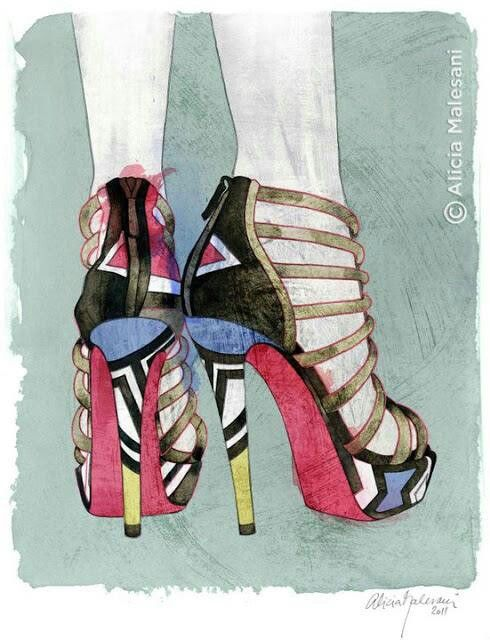 42 Best Something Illustration Images On Pinterest Shoe Illustration Fashion Drawings And