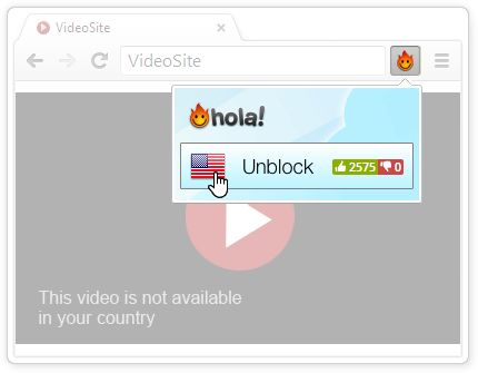Hola – Unblock censored sites with free VPN proxy & accelerate your Internet