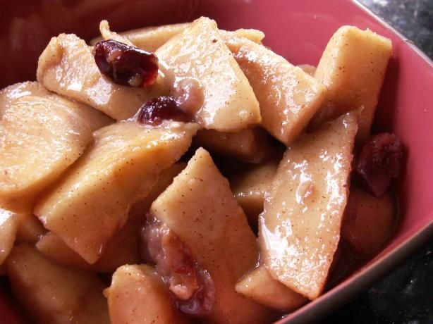 Crock Pot Stewed Apples from Food.com: This is such a comfort food to me in the Fall and Winter. I hope you like it as much as I do!