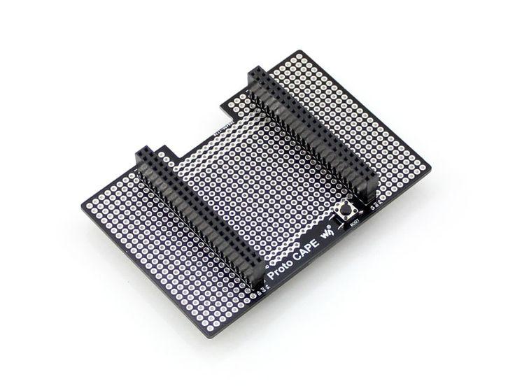 Modules Proto CAPE Beaglebone Black Expansion Cape Development Board Breadboard for Prototyping 2.54mm Pitch Connecting Differen #Affiliate