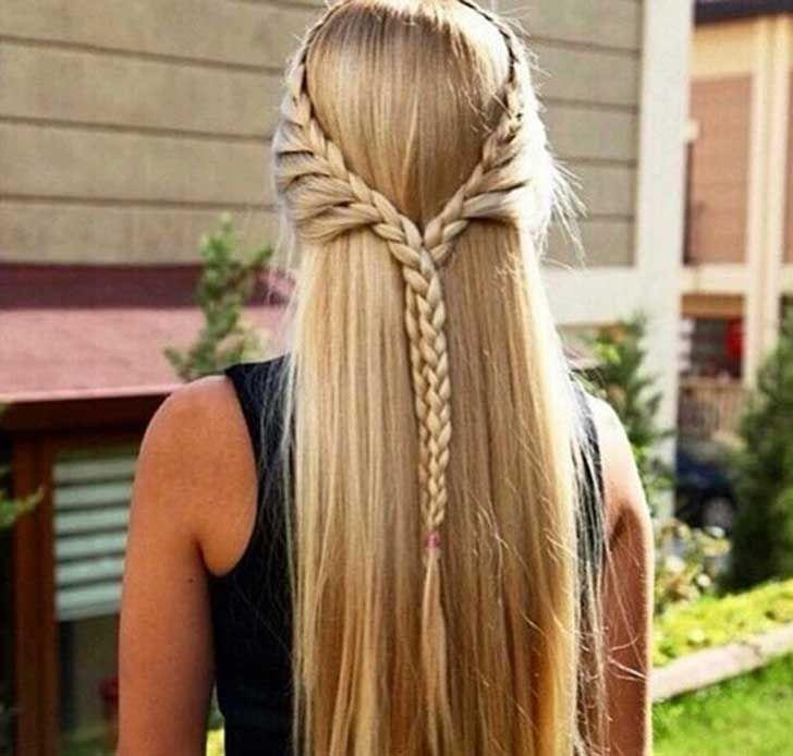 Peinados Pelo Largo Liso Faciles Buscar Con Google Peinados Con Cabello Suelto Peinados Poco Cabello Peinados Pelo Largo