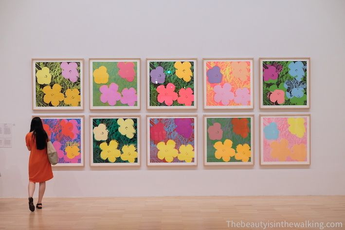 Flowers, andy Warhol - NGV, Melbourne