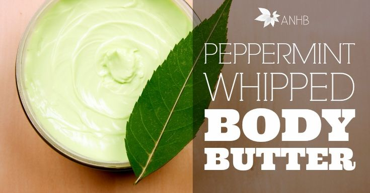 manic organic eucalyptus mint whipped body butter