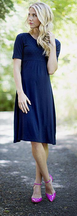 Hazel Dress [BDS1504] - $49.99 : Mikarose Boutique, Reinventing Modesty