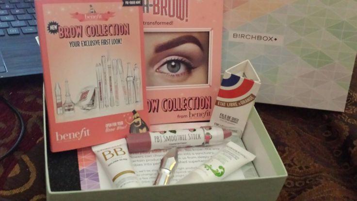 My June Birchbox! @Birchbox #JuneBirchbox