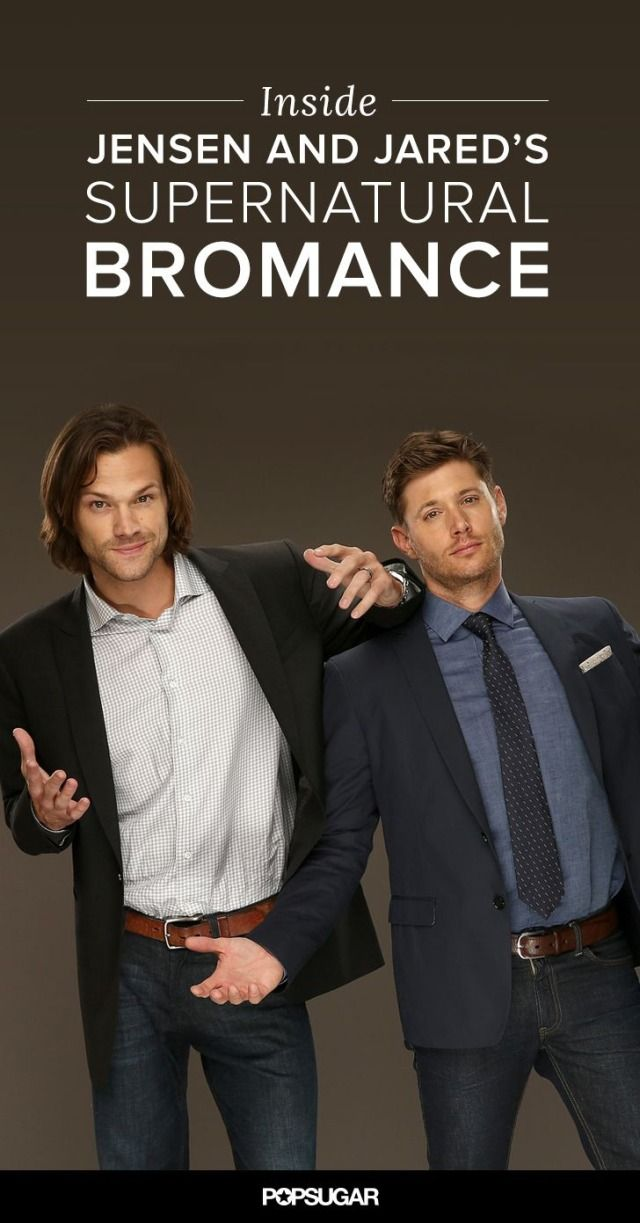 Jensen Ackles and Jared Padalecki may be brothers on Supernatural, but they're also best friends in real life!
