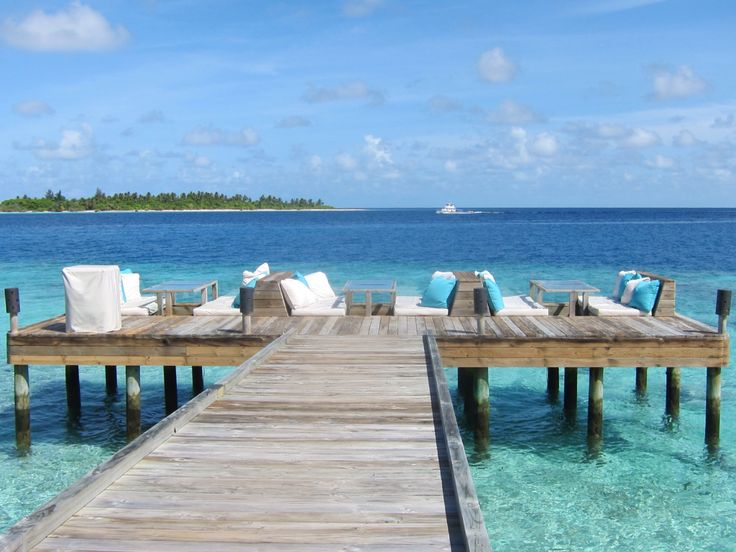 Il #ristorante Longitude del Six Senses Laamu alle Maldive...stupendo...