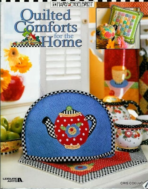 32 Quilted comfort for the home - maria cristina Coelho - Picasa Web Albums... FREE BOOK, PATTERNS AND INSTRUCTIONS!