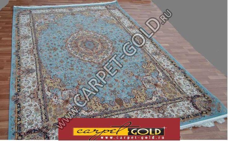 Купить персидский ковер «Абришим 3814 Blue » коллекции «Abrishim»
