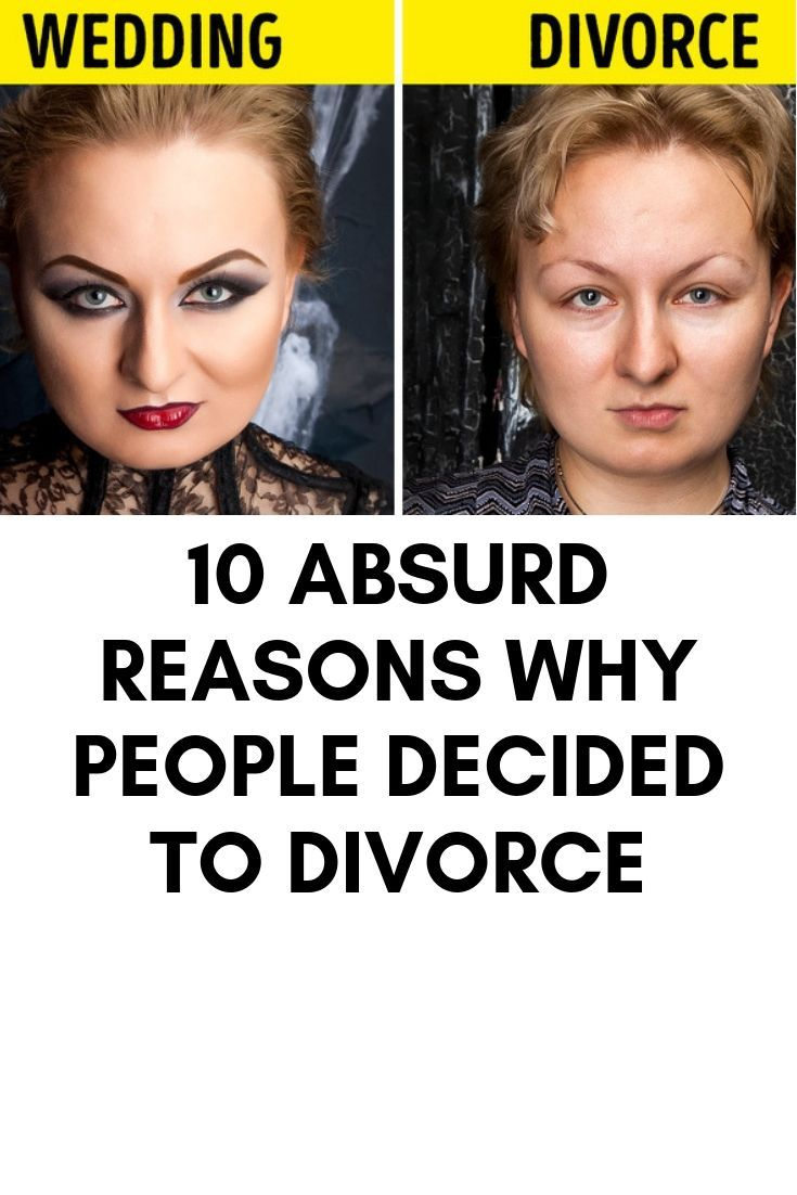 10 Absurd Reasons Why People Decided To Divorce Why People Famous Celebrities People