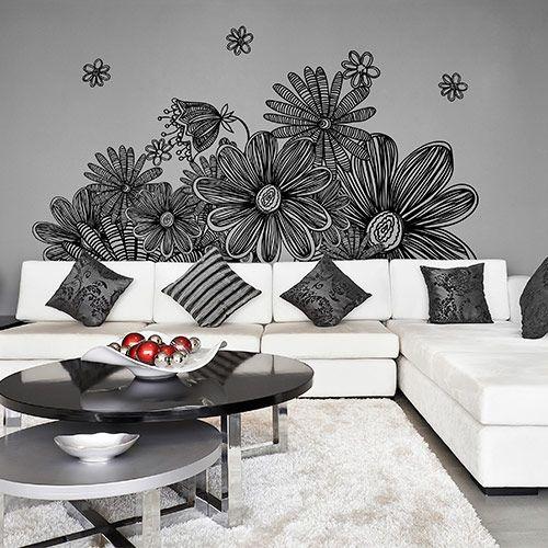 Vinilos con Arte | Rakuten: Vinilo decorativo Floral FL.32: SKU32