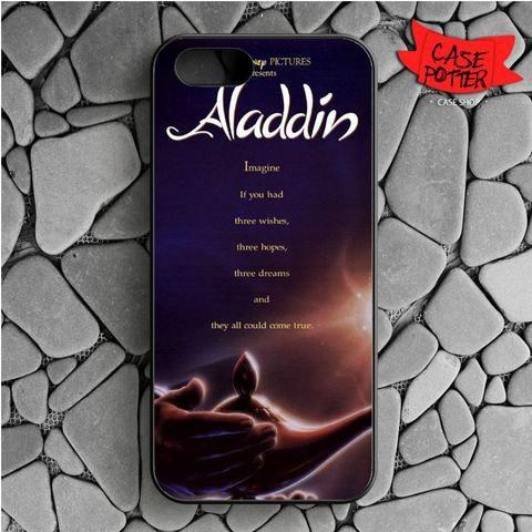 Aladdin Quotes iPhone SE Black Case