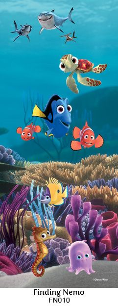 Finding Nemo wall mural
