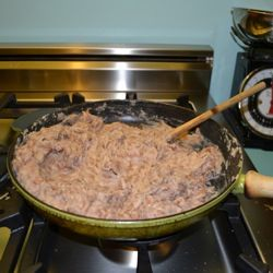 authentic refried beans - but takes about 6 hours