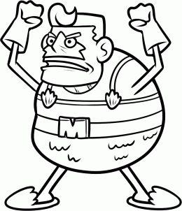 Nickelodeon How To Draw Mermaid Man Mermaid Man From
