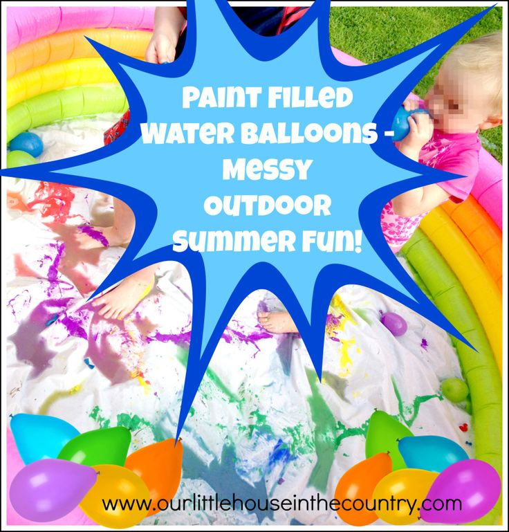 17 Best Images About Kids- Water Balloon Party On
