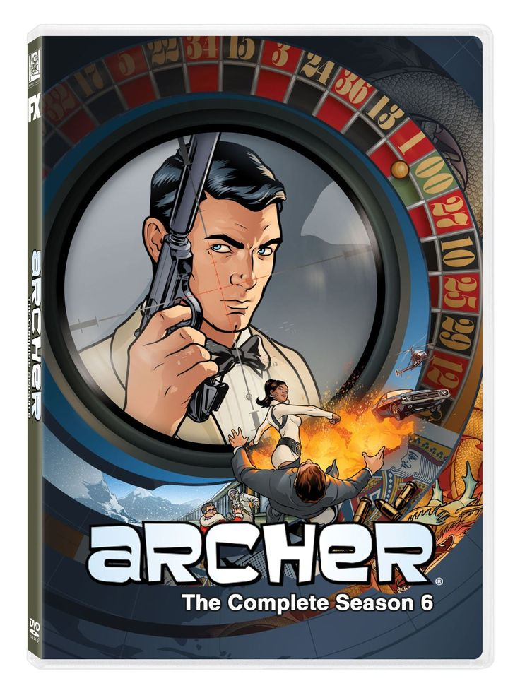 Archer returns to television just as the previous season arrives on DVD. Check out our review of this spy comedy series here.