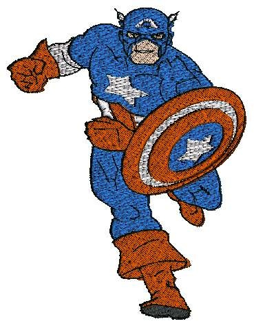 Captain America Embroidery Designs  Embroidery Designs