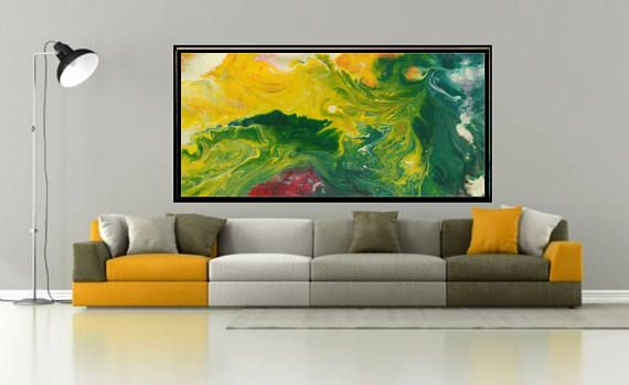 Abstract Painting Living Room Art Green Print Download Art Green Art Large Abstract Painting Minimalist Ar Modern Art Pictures Abstract Abstract Painting