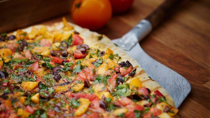 Pizza apéro de jardin