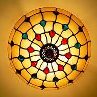 Hedendaags+/+Traditioneel+/+Klassiek+/+Rustiek/landelijk+/+Tiffany+/+Vintage+/+Retro+/+Lantaarn+/+Landelijk+LED+Glas+Op+plafond+bevestigd+–+EUR+€+141.86