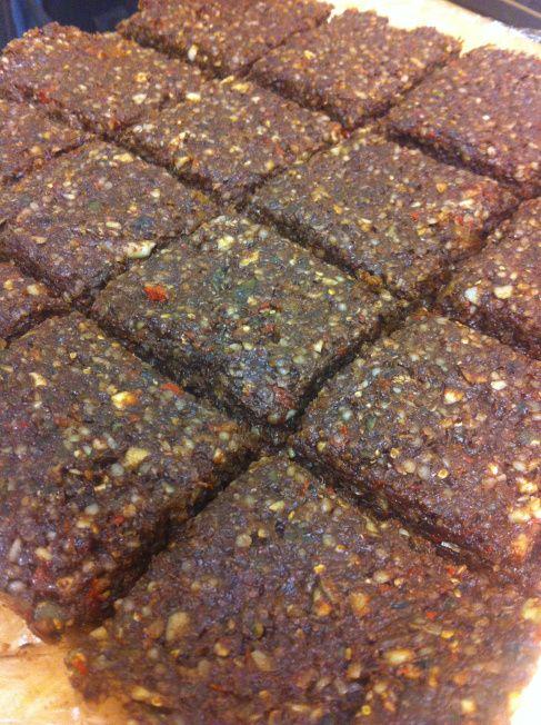 Raw High Protein Seed & Nut Bars #vegan #glutenfree #raw