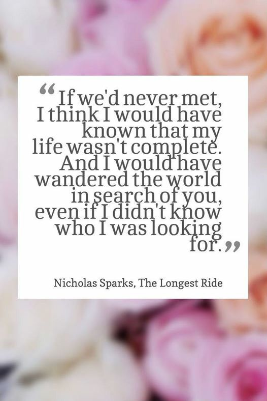 love Nicholas Sparks and his new movie the longest ride