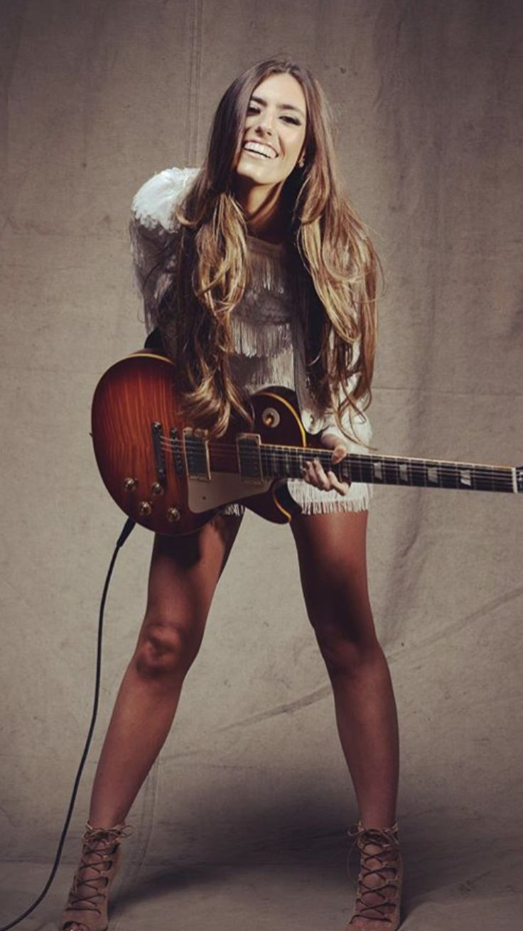 733 Best Women Of Rock And Blues The Guitar Players -8134