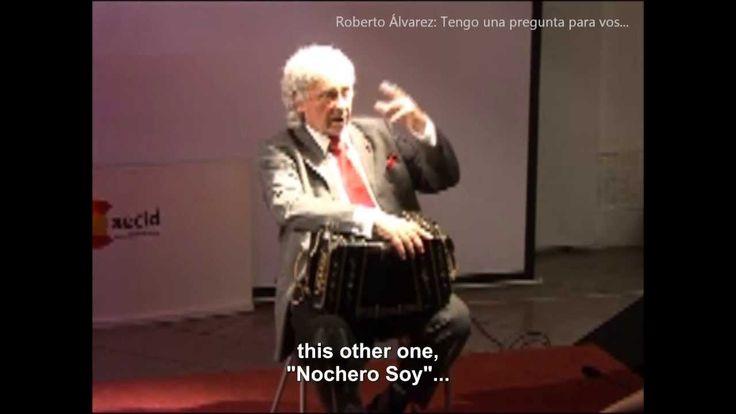 ROBERTO ÁLVAREZ Tengo una pregunta para vos (by Pepa Palazón) with ENGLI...