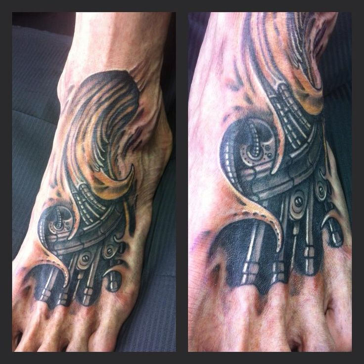 17 Best Images About BioMech Tattoos On Pinterest