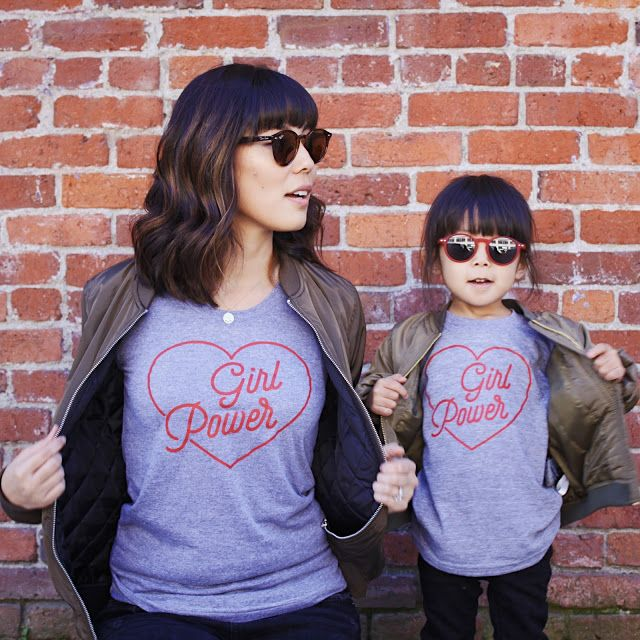 Mommy and Me Matching Tees.