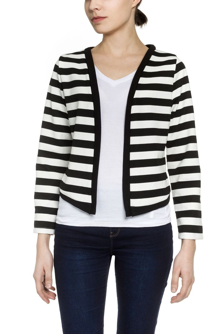 Striped blazer  https://alabamashop.hu/