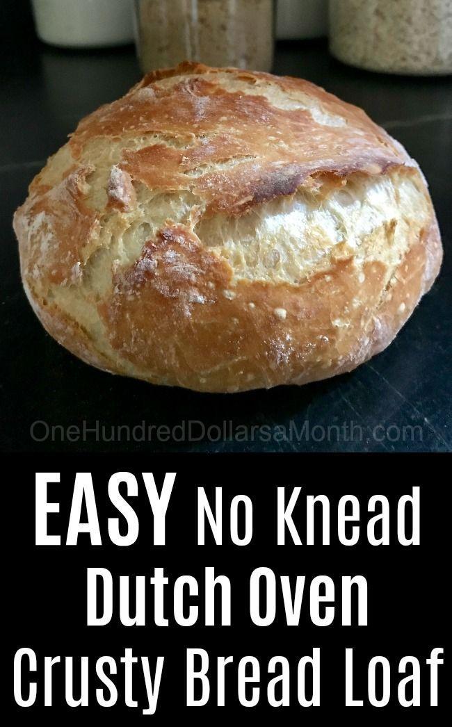 Pin On No Knead Bread Recipes