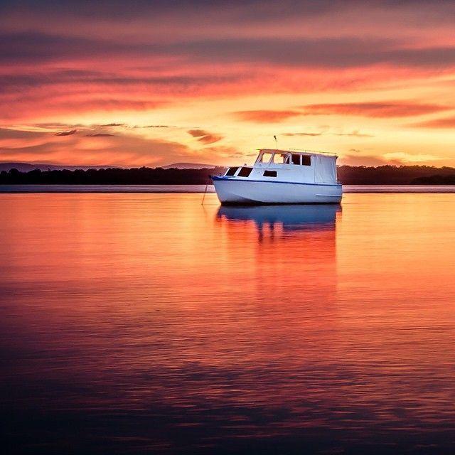 Sunset dreaming on Bribie Island near @visitbrisbane. #thisisqueensland by @wanderlust #brisbaneanyday