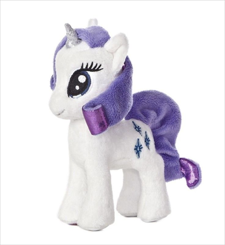 "My Little Pony Rarity 10"" Plush # 15515 Aurora #Aurora"