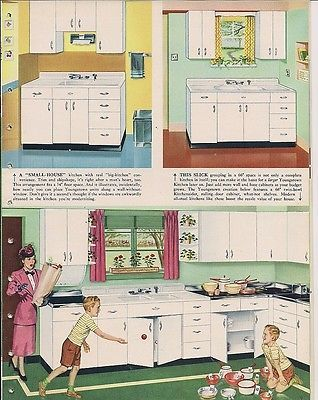 12 best Youngstown Kitchen Cabinets images on Pinterest | Retro ...