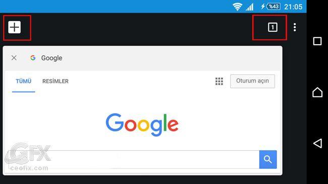 #google #googlechrome #sekmelerarasıgeçiş #android Google Chrome Sekmeler Arası Geçiş https://www.ceofix.com/9857/google-chrome-sekmeler-arasi-gecis/