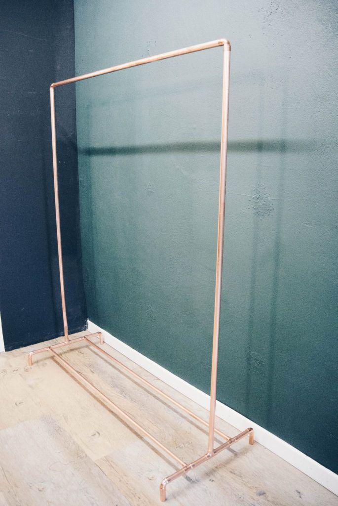DIY Kupfer Kleiderstange – How to