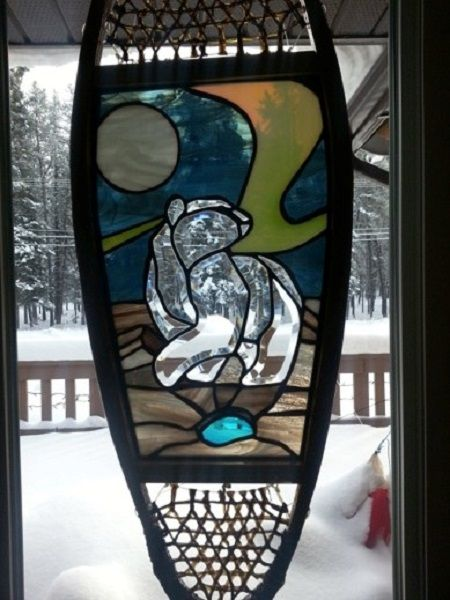 stained glass bear - Google Search