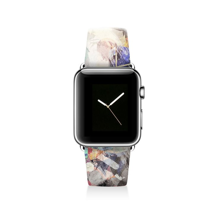 Unique and stylish Apple watch band from Decouart. Fits all Apple Watch models. Band sizes available in 38 mm and 42 mm. Made with genuine leather and stainless steel buckle. Very comfortable and dura