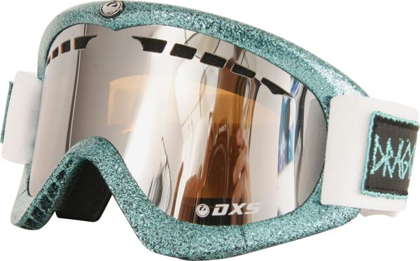 Dragon DXS Women's Snow Goggles - Hog Wild Teal - Ionized with  Free Rose LensGoggles
