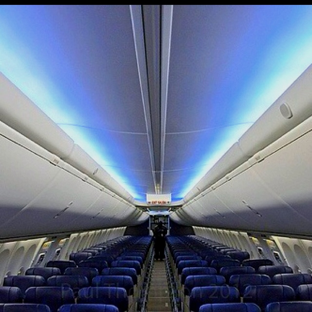 Boeings Beautiful Sky Interior Inside Our First 737 800