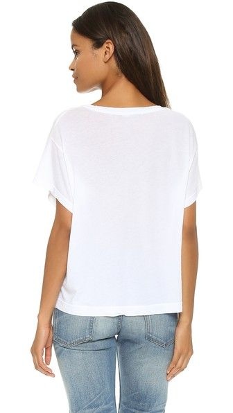 Stateside Свободная укороченная футболка Royal
