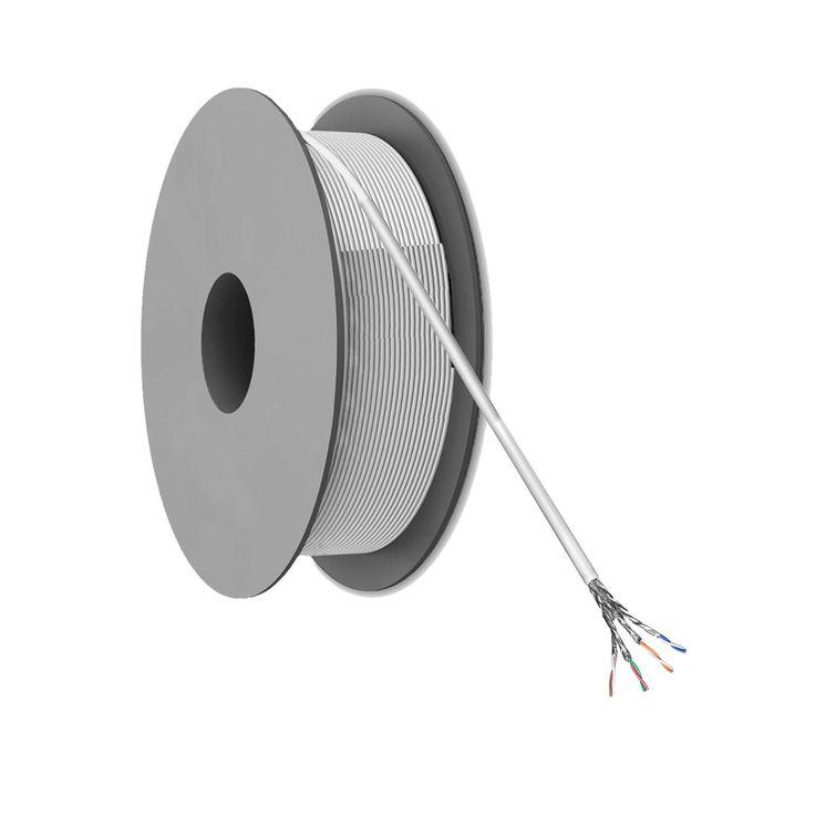 CAT 6 S/FTP Netwerkkabel op rol - 305 meter