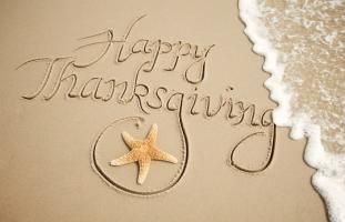 Thanksgiving at the Beach Save 25% on condo rentals