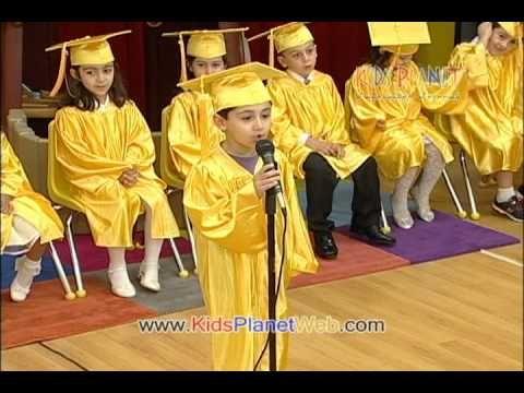 Kids Planet Preschool - Graduation 2010 - Part 1 - YouTube