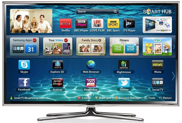 Samsung Smart Tv so excited cant believe we just got this!!! Ahh happy back to school for me and mike!