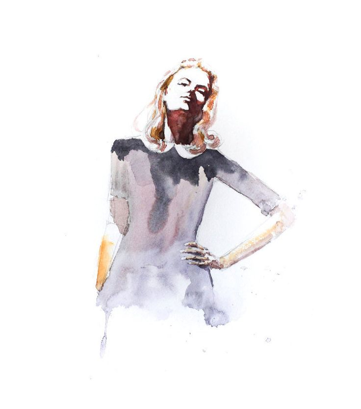 Sophie by AllWaterAndColors on Etsy