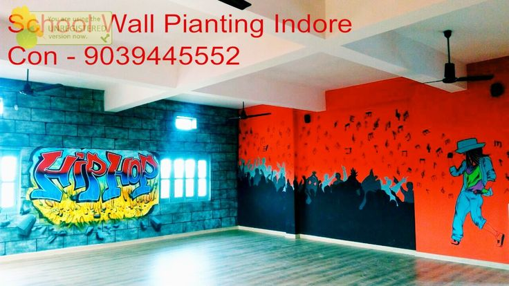 school wall painting artist
