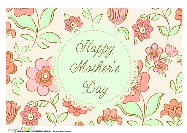 free mothers day printables from @DimplePrints